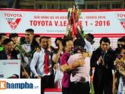 Bóng đá - Muốn vô địch V-League thì học bầu Hiển