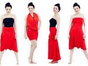 Thời trang - Biến hóa 1001 kiểu trang phục chỉ với một chiếc váy