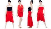 Biến hóa 1001 kiểu trang phục chỉ với một chiếc váy