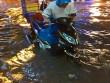 Clip: Người Sài Gòn  bơi  về nhà sau trận ngập lịch sử