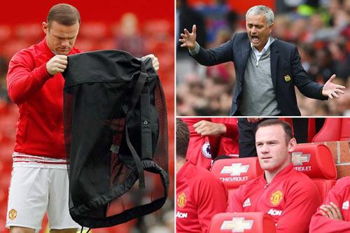 Bị Mourinho loại bỏ, Rooney lên kế hoạch chia tay MU