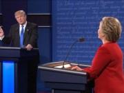 Thế giới - Tranh luận trực tiếp: Bà Clinton gỡ đòn, lấn lướt Trump