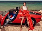 Thời trang - Bella Hadid khoe chân dài vô tận
