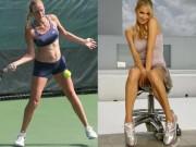Thể thao - Tay vợt nổi như cồn nhờ thân hình siêu mẫu
