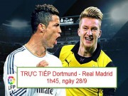 Bóng đá - Chi tiết Dortmund – Real Madrid: Cú sút trái phá (KT)