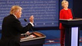 Tranh luận trực tiếp: Bà Clinton gỡ đòn, lấn lướt Trump