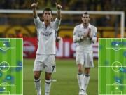 Bóng đá - Khó tin Real: Ronaldo, Bale phải cật lực phòng ngự
