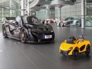 """Tư vấn - Ngắm McLaren P1 phiên bản nhí mui trần """"cực chất"""""""