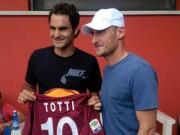 Bóng đá - Tin HOT tối 28/9: Totti được Federer, Nadal chúc sinh nhật