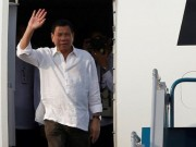 Tin tức trong ngày - Tổng thống Philippines đến Hà Nội, bắt đầu thăm Việt Nam