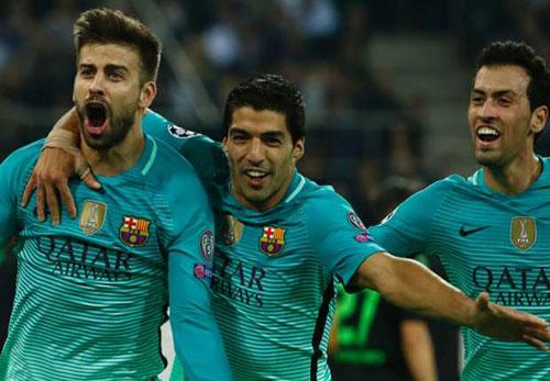 """Enrique: """"M'Gladbach đá hay nhưng Barca thắng xứng đáng"""" - 1"""
