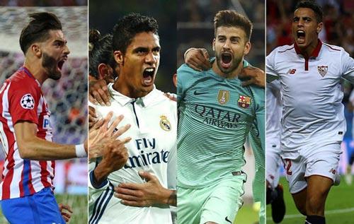 Champions League: Barca, Real và sự áp đảo của La Liga