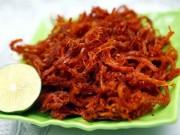 Ẩm thực - 3 món thịt khô xé sợi ngon quên sầu cho ngày thu vàng nắng