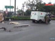 Video An ninh - Truy tìm phương tiện tông chết cô gái ở SG rồi bỏ trốn