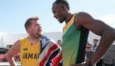 Phì cười Bolt đua 100m với ngôi sao hài Hollywood
