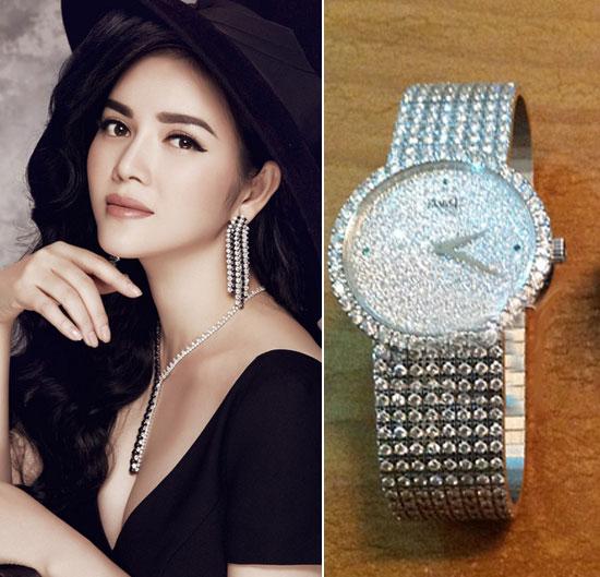 Choáng với đồng hồ kim cương tiền tỷ của giai nhân Việt - 6