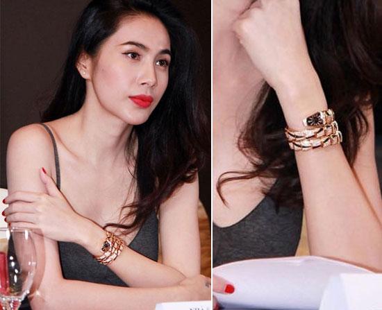 Choáng với đồng hồ kim cương tiền tỷ của giai nhân Việt - 7