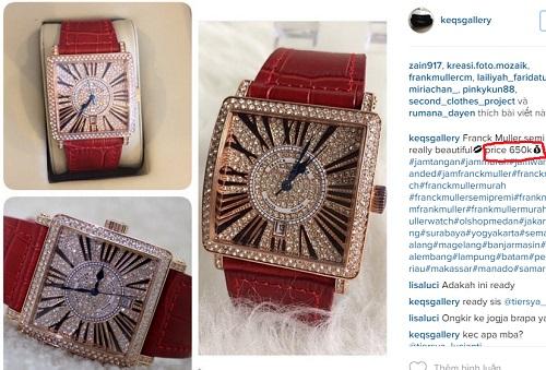Choáng với đồng hồ kim cương tiền tỷ của giai nhân Việt - 11