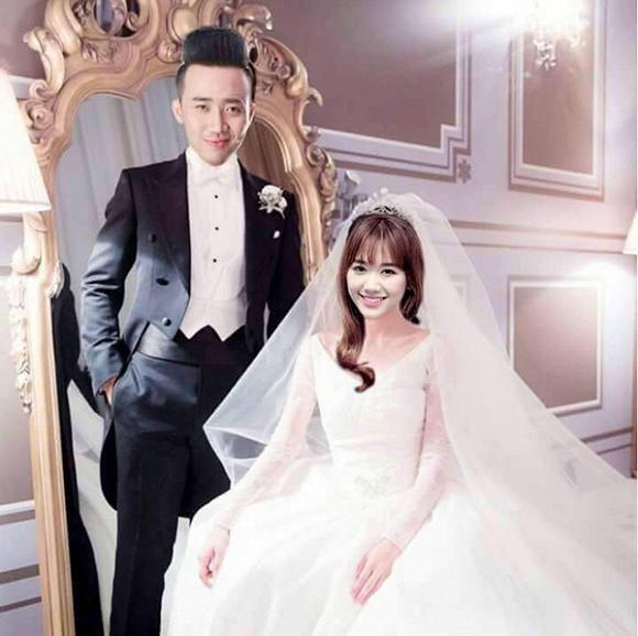 Sốc với ảnh cưới của Trấn Thành - Hari Won
