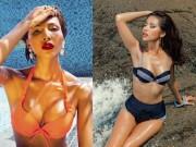 Thời trang - Đọ đường cong nóng bỏng mắt của hai siêu mẫu da nâu