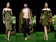Thời trang - Sắc xanh tràn ngập Tuần lễ Thời trang Việt Nam 2017