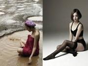 Người mẫu - Hoa hậu - Ngắm dung nhan người mẫu Thái Lan tắm bùn trong ổ gà