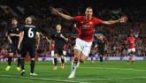 MU thắng trận: Mourinho bình thản, Ibra thêm kỷ lục