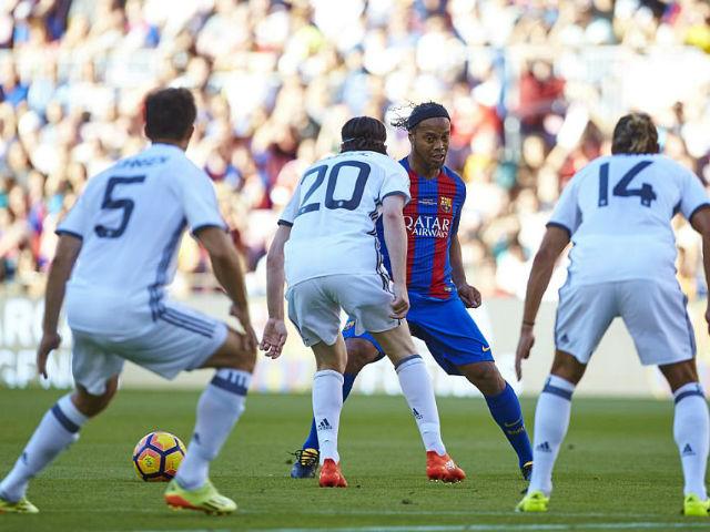 Ronaldinho ghi poker, suýt bị Giggs ngược dòng giải futsal - 2