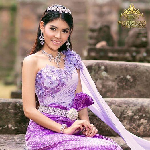 Trầm trồ trước dung mạo tuyệt xinh của hoa hậu Campuchia - 4