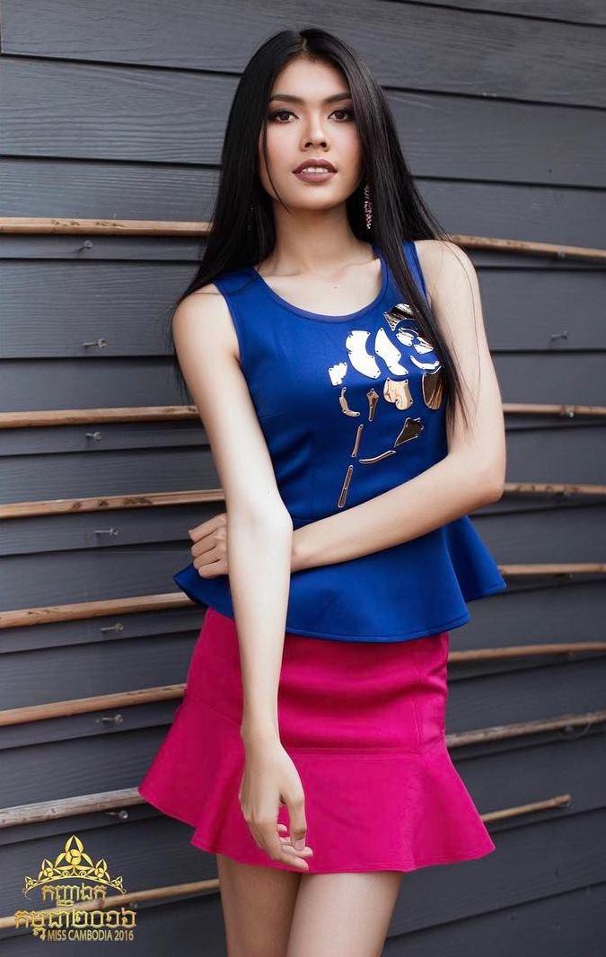 Trầm trồ trước dung mạo tuyệt xinh của hoa hậu Campuchia - 9