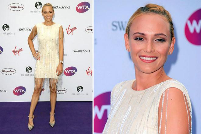 """Mỹ nhân Wimbledon đại chiến: Vắng Sharapova, bồ Wawrinka """"làm trùm"""" - 9"""