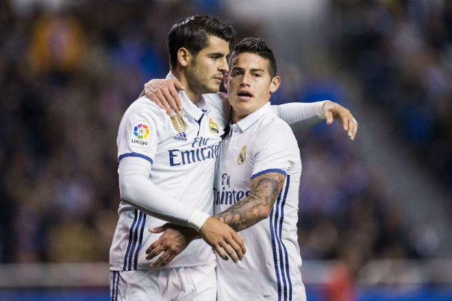 """Real """"thải"""" Morata, James: Bán tương lai, giữ ông già - 1"""