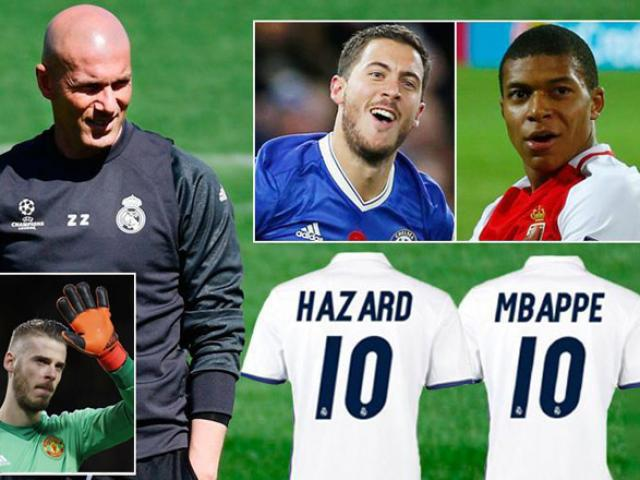 """Real Madrid xây """"Galacticos 3.0"""": Ronaldo phải nhường chỗ? - 4"""