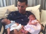 Ronaldo đón song sinh: Thuê đẻ 5,4 tỷ đồng  & amp; manh mối người mẹ bí ẩn