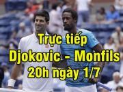 Thể thao - TRỰC TIẾP Djokovic - Monfils: Bản lĩnh lên tiếng (KT)
