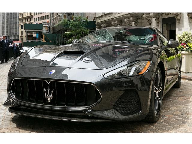 Maserati GranTurismo 2018 hé lộ diện mạo tuyệt đẹp