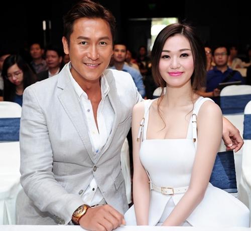 Khánh My phải e dè trước nhan sắc U50 của vợ tài tử TVB Mã Đức Chung - 1