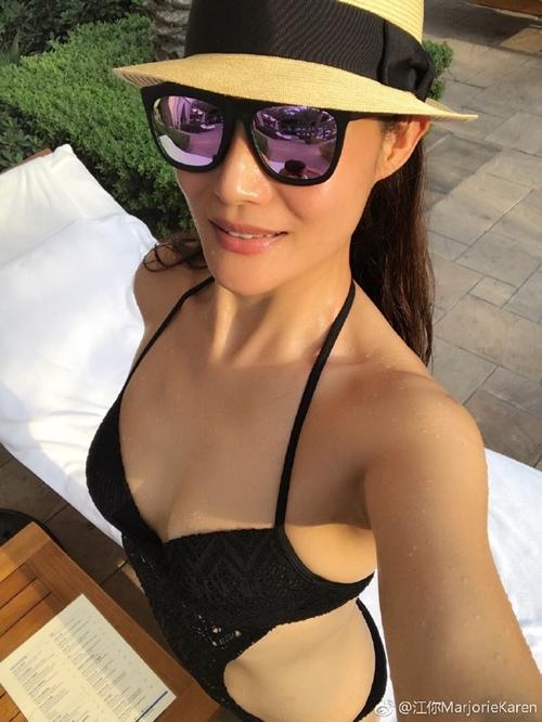 Khánh My phải e dè trước nhan sắc U50 của vợ tài tử TVB Mã Đức Chung - 3