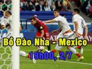 Bồ Đào Nha - Mexico: Vì danh dự, vì Ronaldo