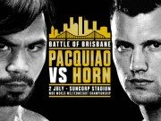 Chi tiết boxing Pacquiao - Jeff Horn: Vỡ òa sau 12 hiệp (KT)
