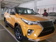 Tin tức ô tô - Biến Toyota Fortuner thành 'xế sang' Lexus chỉ với 70 triệu đồng