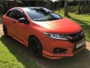 Tin tức ô tô - Honda City độ cam nhám ấn tượng tại Việt Nam