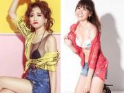 """Thời trang - Hari Won mặc quần siêu ngắn, """"đọ"""" độ nóng với Nhã Phương, Bảo Anh"""
