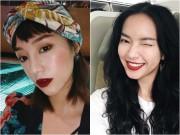 Hè về, các hotgirl Việt vẫn mê mẩn son đỏ trầm