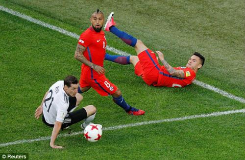 Chi tiết Confederations Cup, Đức - Chile: Những nỗ lực bất thành (KT) - 5