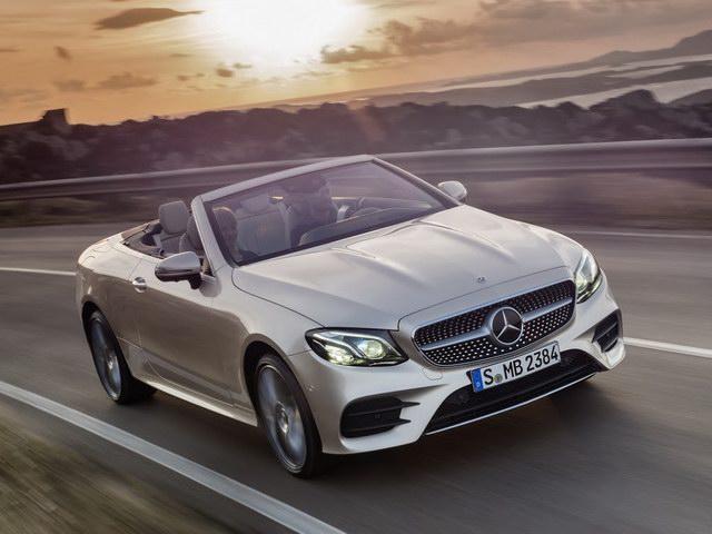 Mercedes E-Class Cabriolet 2018 có giá từ 1,4 tỷ đồng