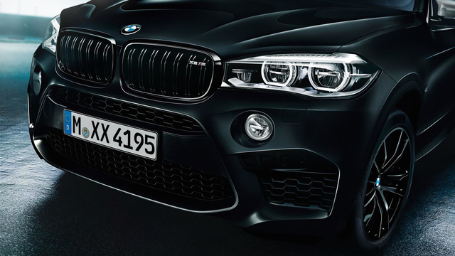 Lộ diện BMW X5 M và X6 M bản đen bóng đặc biệt - 4
