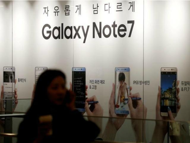 Đã có giá bán Samsung Galaxy Note 7 bản tân trang
