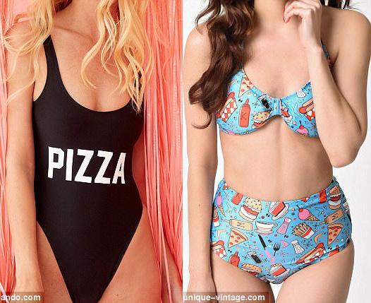 Nước Mỹ xôn xao vì áo tắm làm từ pizza có giá hơn 200 triệu - 5