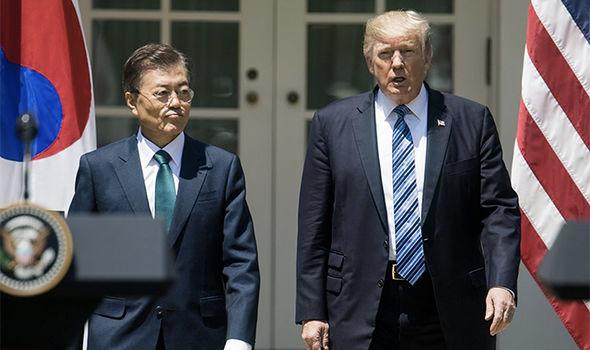 """Triều Tiên: Mỹ chỉ coi Hàn Quốc như """"con rối và đầy tớ"""" - 1"""